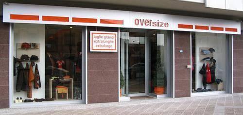 Oversize Negozio